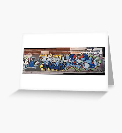melbourne graffiti 0027b Greeting Card