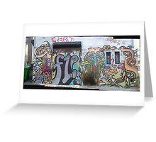melbourne graffiti 087 Greeting Card