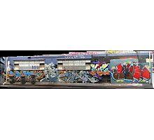 melbourne graffiti 1003pano Photographic Print