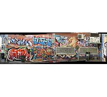 melbourne graffiti 1005pano Photographic Print