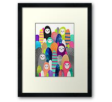 Pebble Spirits Framed Print
