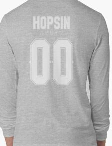 Hopsin 00 White Text Long Sleeve T-Shirt