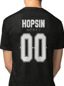 Hopsin 00 White Text Tri-blend T-Shirt