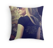 Black Hole of Need Throw Pillow
