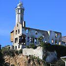 Warden house on Alcatraz  by Missy Yoder