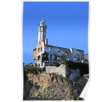 Warden house on Alcatraz  Poster
