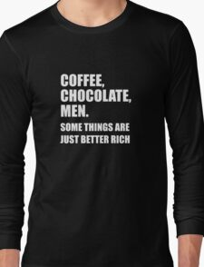 376 Coffee Chocolate Men Long Sleeve T-Shirt