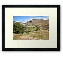 Ingleborough in the Yorkshire Dales Framed Print