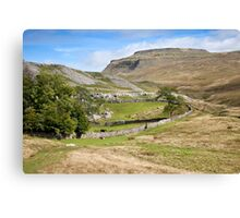 Ingleborough in the Yorkshire Dales Canvas Print