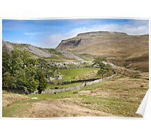 Ingleborough in the Yorkshire Dales Poster
