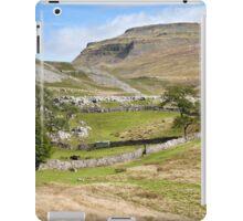 Ingleborough in the Yorkshire Dales iPad Case/Skin
