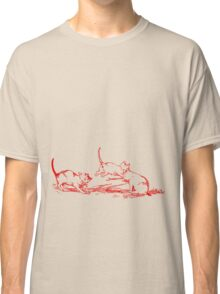 Playing Cats Classic T-Shirt