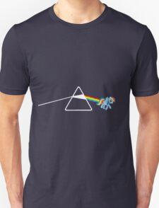 My Little Pony - Rainbow Dash / Dark Side of the moon Unisex T-Shirt