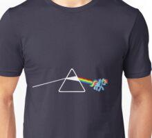 My Little Pony - Rainbow Dash / Dark Side of the moon Unisex T-Shirt