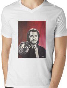 Vincent Vega Mens V-Neck T-Shirt