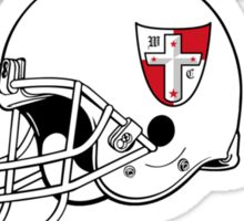Crusader Football - Red Sticker
