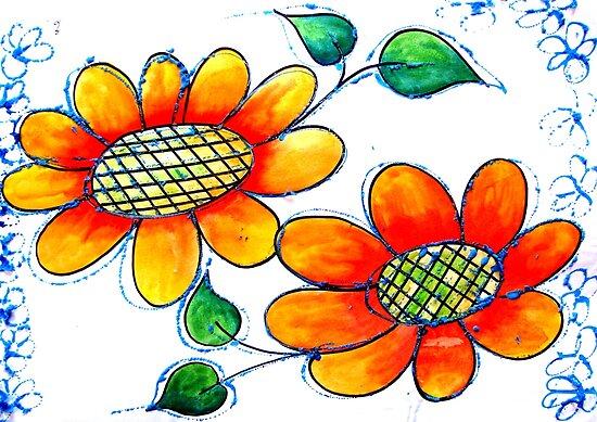 Flowers by Elizabeth Kendall
