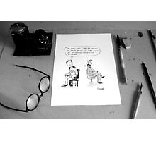 desk Photographic Print
