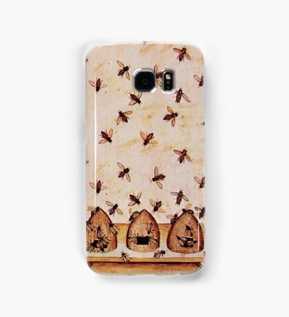HONEY BEES AND BEE HIVES ,BEEKEEPER Samsung Galaxy Case/Skin