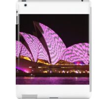 Stripy Sydney Opera House iPad Case/Skin