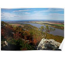 Petit Jean - West Mountain View Poster