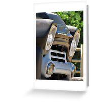 58 Chevy Apachee Greeting Card