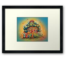 Gnome Babies Framed Print