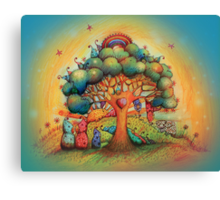 Gnome Babies Canvas Print