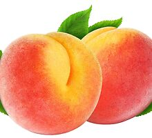 Two peaches by 6hands