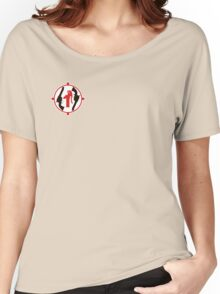 SSAA Daylesford Spa Pistol Club Small Women's Relaxed Fit T-Shirt