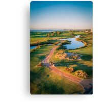 Golfing at the Gong III Canvas Print
