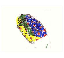 Jamaican-American Shoe Art Print
