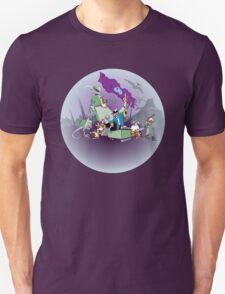 Pirate Monkeys take on the robot dinosaurs... T-Shirt