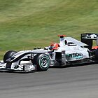 Mercedes MGP W01, Michael Schumacher by Ben Luck