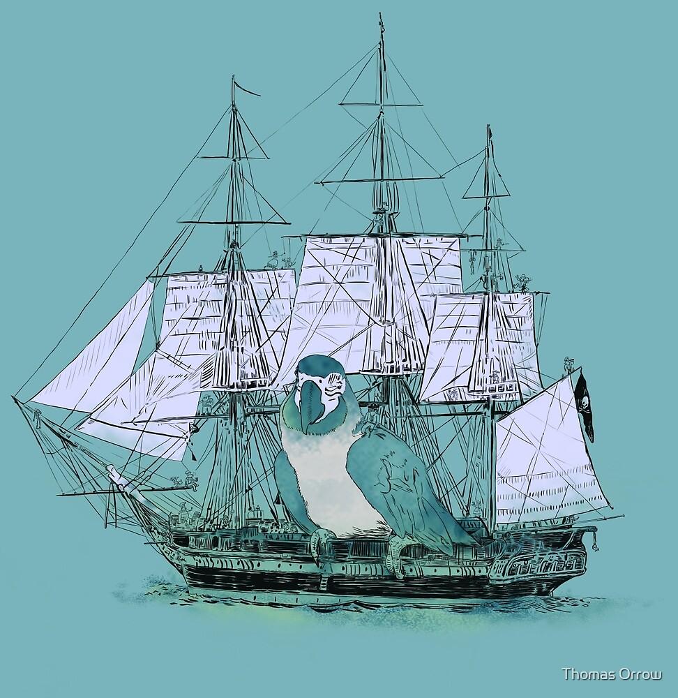 Pirate Ship by Thomas Orrow