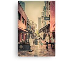 Hardware Lane Canvas Print