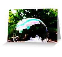 Bubble Greeting Card