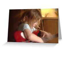 Bass Player Greeting Card