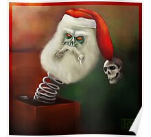Merry scary Xmas Poster