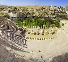 Amman Roman Theater by Netsrotj