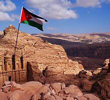 Monastery Petra, Jordan by Netsrotj