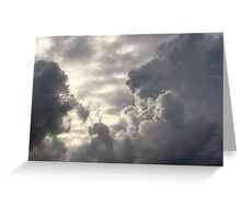 Mr. and Mrs. Cloud Greeting Card