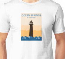 Ocean Springs - Mississippi. Unisex T-Shirt