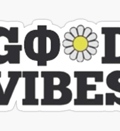 Good Vibes w/ Phi Sticker