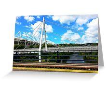 Bridge and Sky Greeting Card