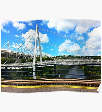 Bridge and Sky Poster