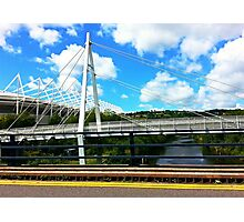 Bridge and Sky Photographic Print