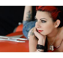 Miss Amanda Photographic Print