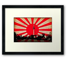 City of The Rising Sun Framed Print