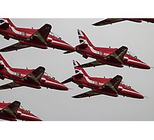 The Red Arrows Synchro Pair Photographic Print